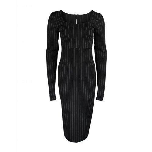 Longlady Longlady Dress Eliesa Black pinty
