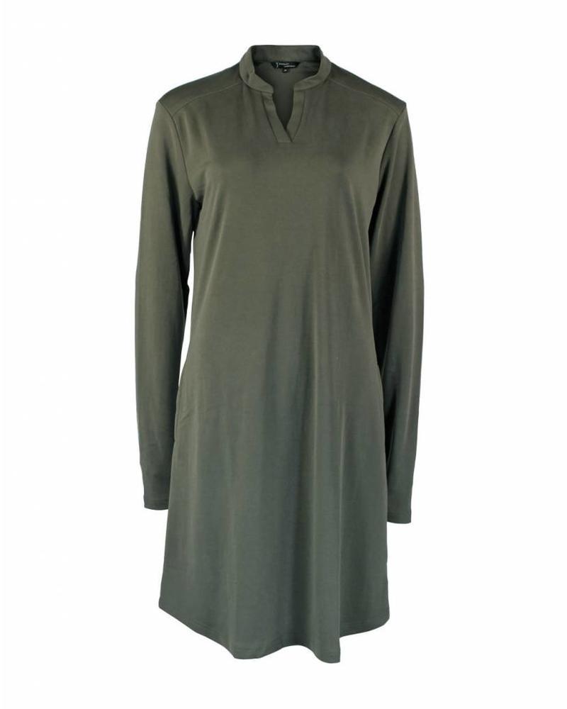 Longlady Dress Ellis Khaki