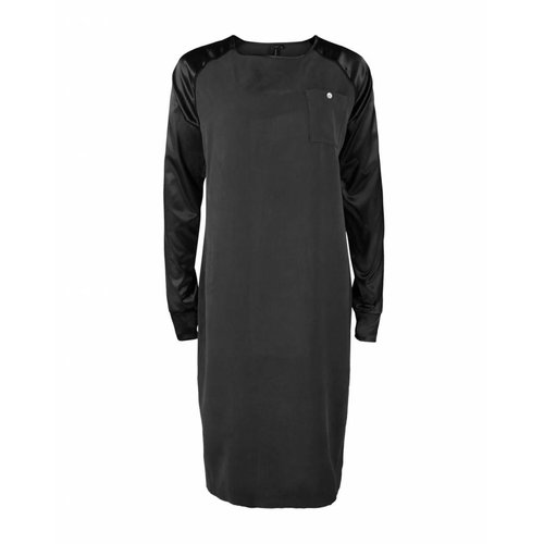 Longlady Longlady Dress Eliena Black
