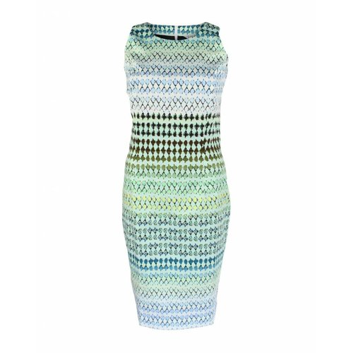 Longlady Longlady Dress Elena Green White