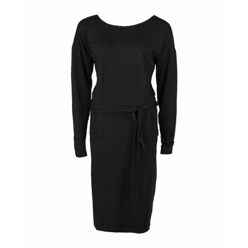 Longlady Longlady Dress Estelle Black