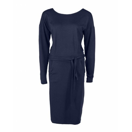 Longlady Longlady Dress Estelle Darkblue