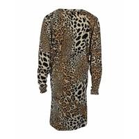 Longlady Jurk Joy Leopard
