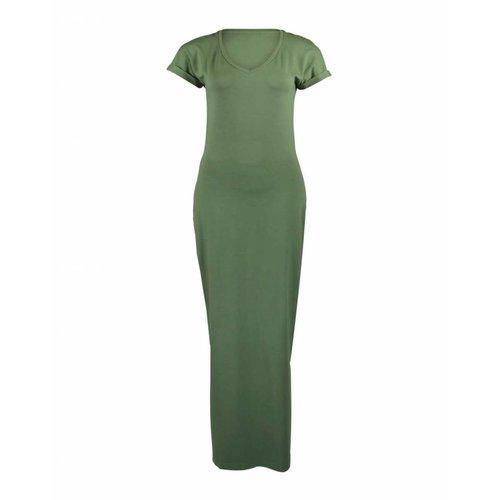 Longlady Longlady Dress Estel Olive