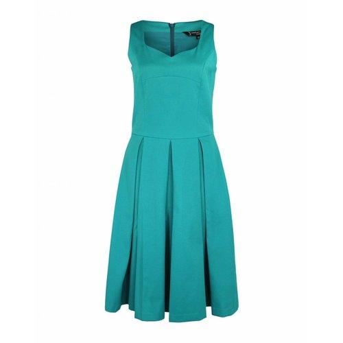 Longlady Longlady Dress Esmee Petrol