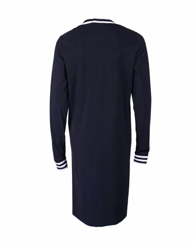 Only-M Jurk Boord Navy