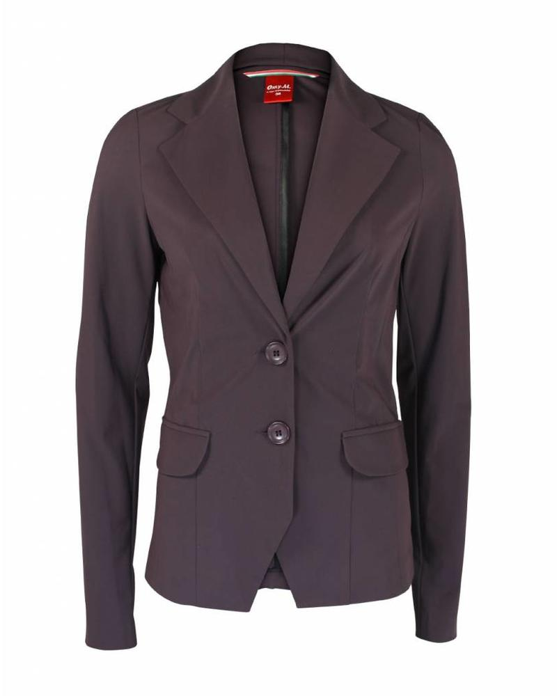 Only-M Blazer Sporty Chic Prugna