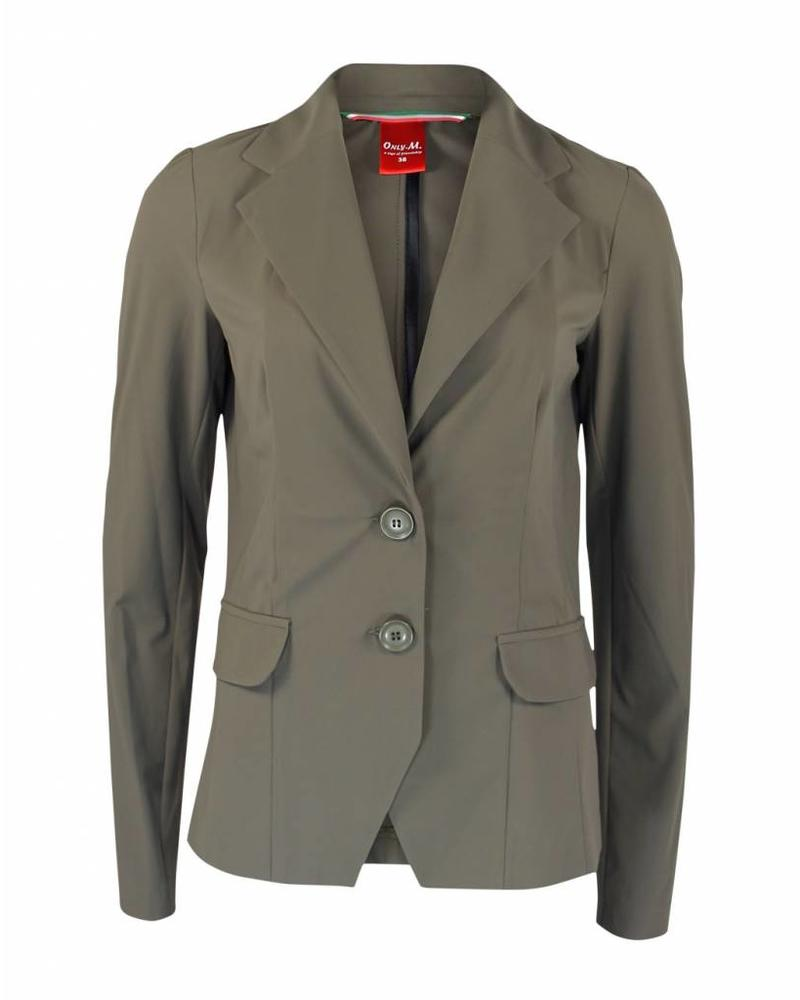Only-M Blazer Sporty Chic Khaki