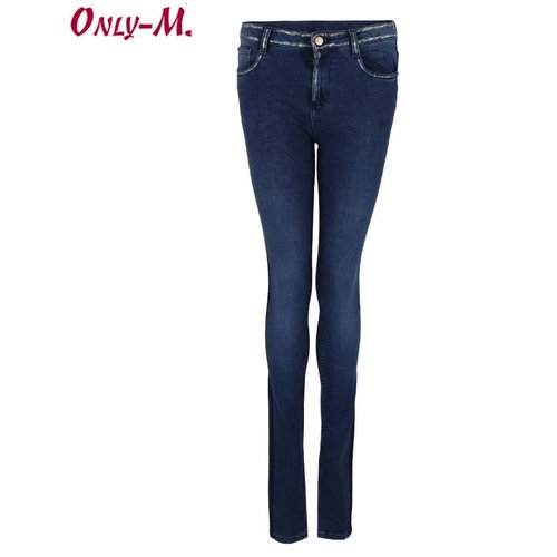 Only-M Only-M Jeans Silver Touch