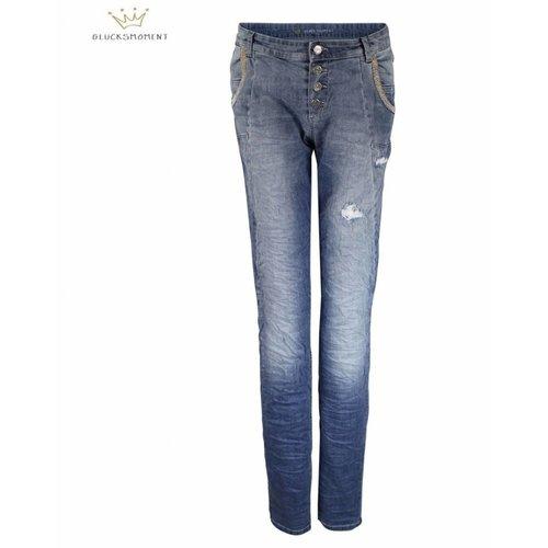 Glücksmoment Glucksmoment Jeans Gloria Blue