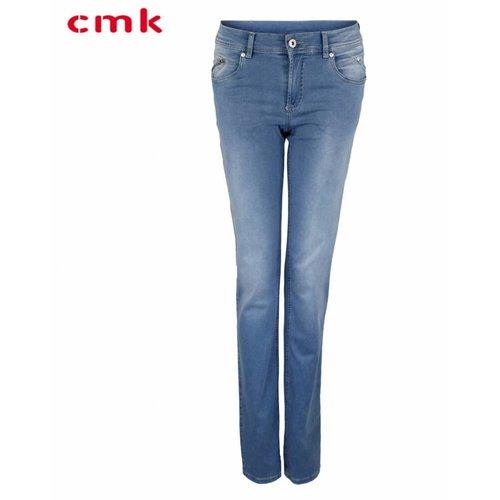CMK CMK Jeans Alina Zip Bleached
