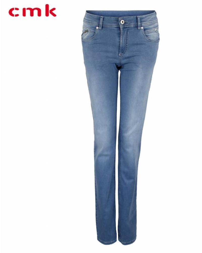CMK Jeans Alina Zip Bleached