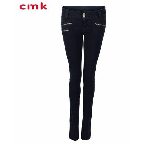 CMK CMK Jeans Suzy Zip Blauw