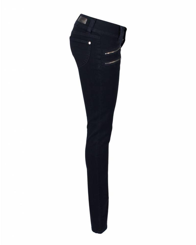 CMK Jeans Suzy Zip Blauw