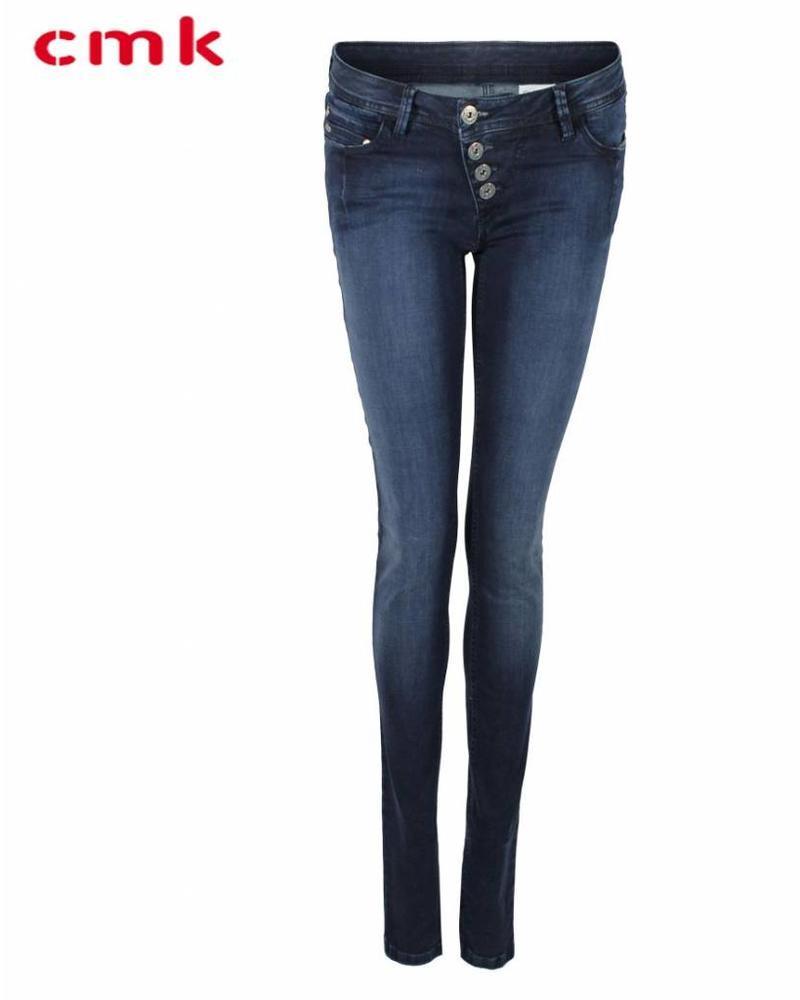 CMK Jeans Suzy Button Blue