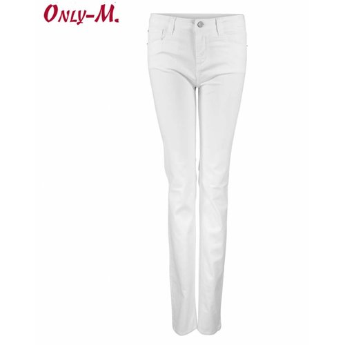 Only-M Only-M Jeans White