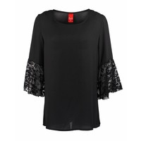 Only-M Blouse Kant Nero