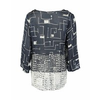 Only-M Blouse Crepe Misto