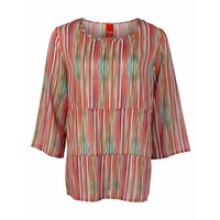 Only-M Blouse Crepe Righe