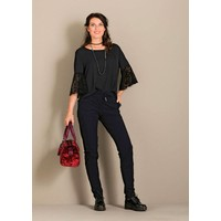 Only-M Blouse Lace Nero