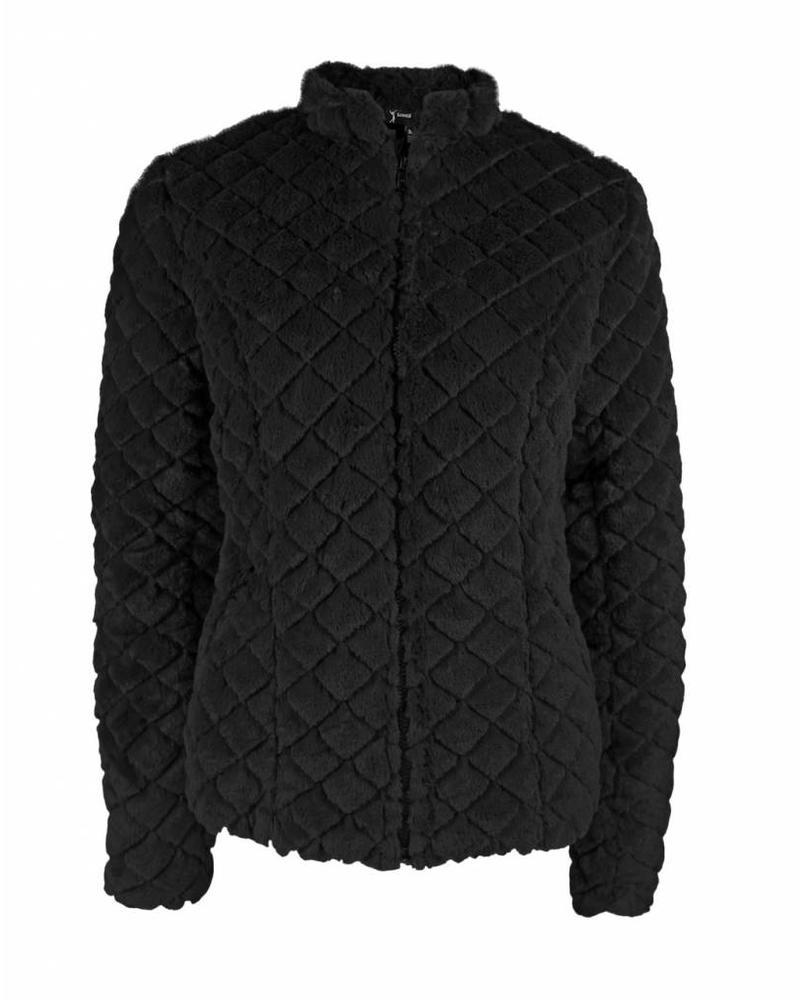 Longlady Jacket Mannet Black