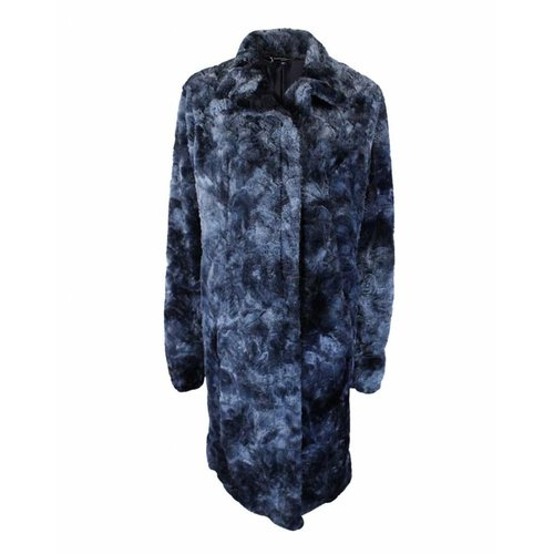 Longlady Longlady Furr coat Mies Darkblue