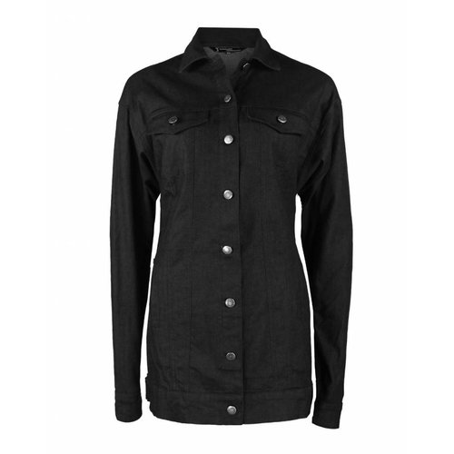 Longlady Longlady Bomberjacket Black