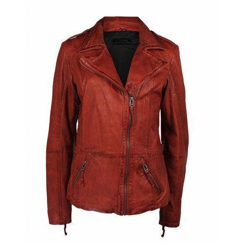 Deercraft Deercraft Bikerjacket Leather Red