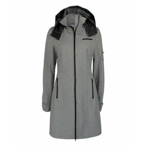 Longlady Longlady Softshell Coat Grey Mellee