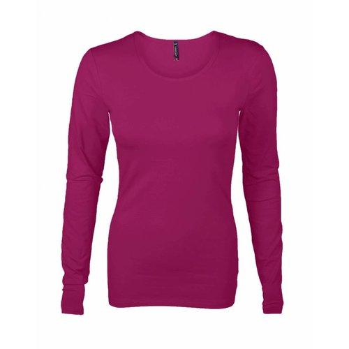 Longlady Longlady T-shirt Tamilia Fuchsia