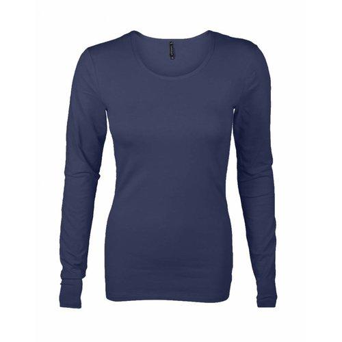 Longlady Longlady T-Shirt Tamilia Darkblue
