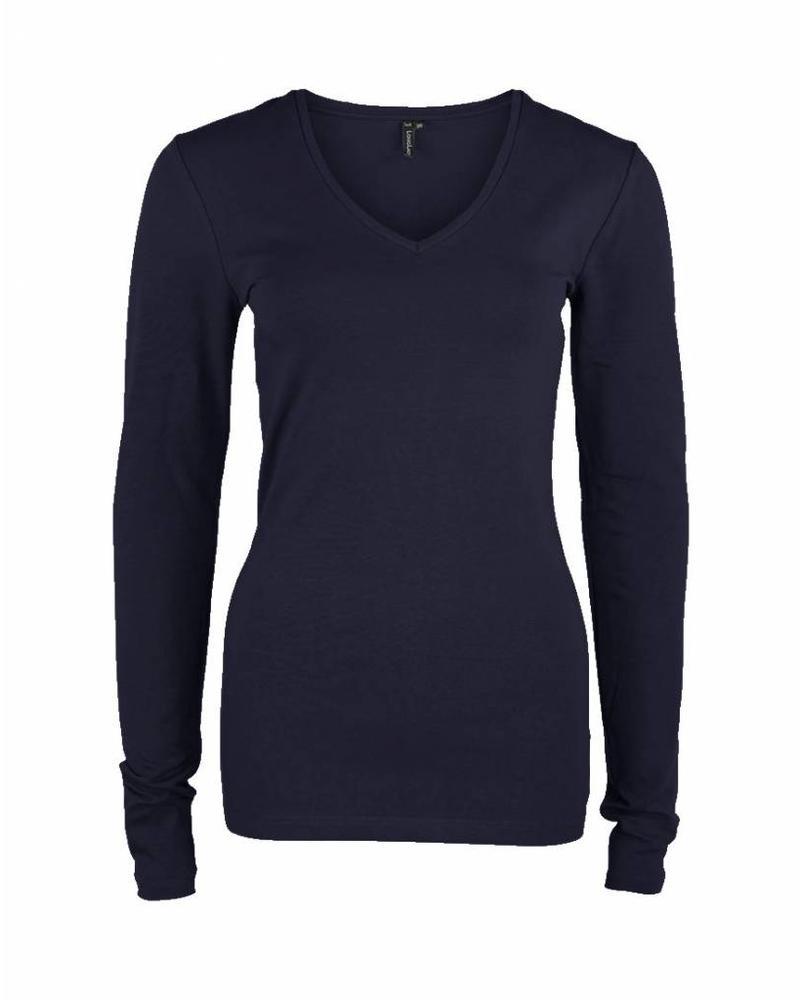 Longlady Shirt Tanja Navy