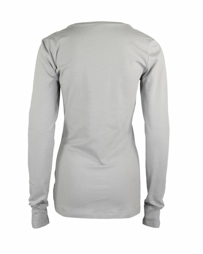 Longlady Shirt Tanja Silver