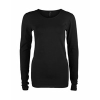 Longlady Shirt Tamilia Zwart