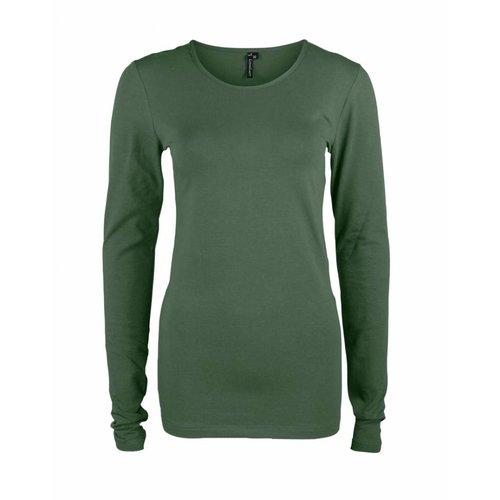 Longlady Longlady Shirt Tamilia Khaki