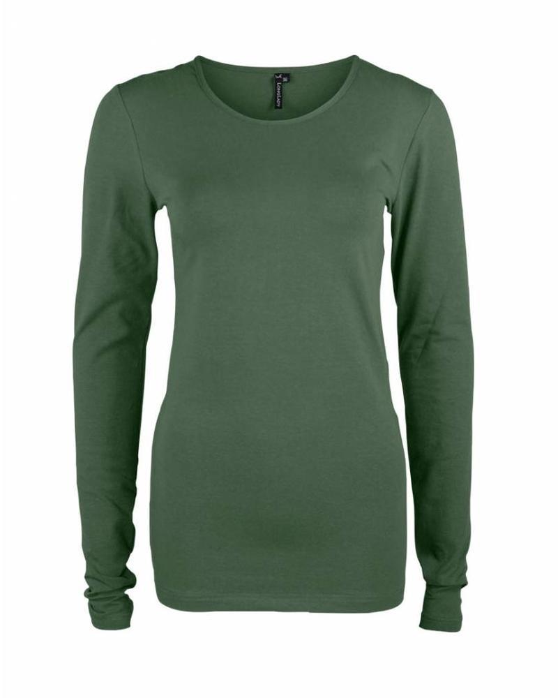 Longlady Shirt Tamilia Khaki