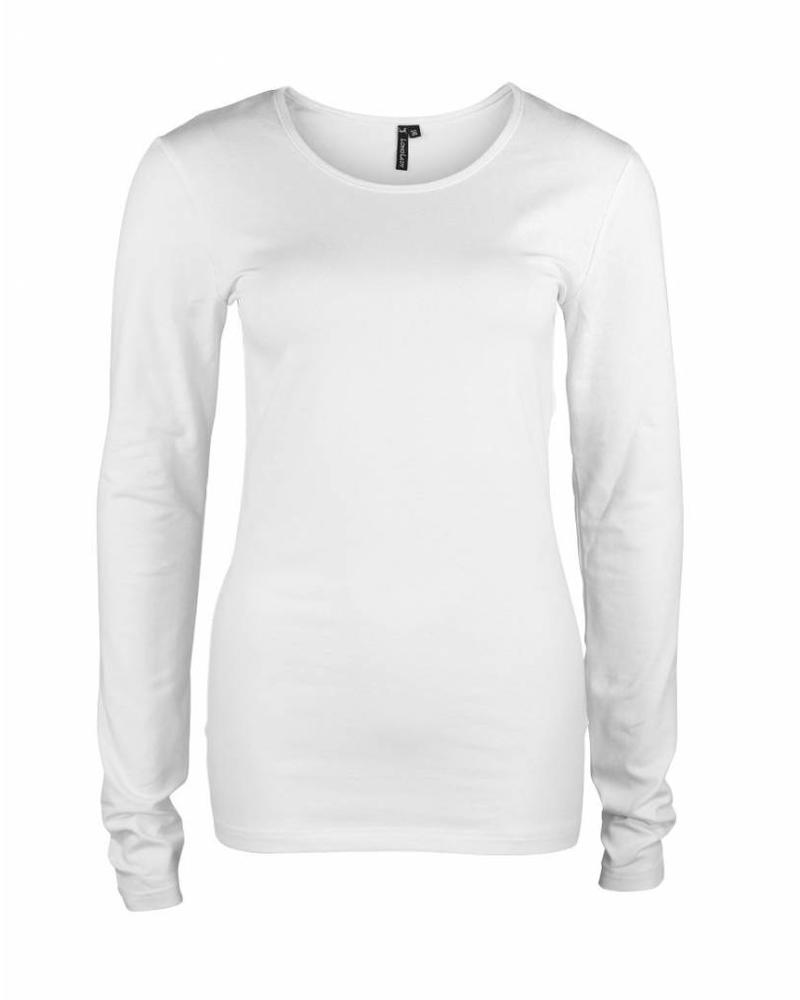 Longlady Shirt Tamilia White