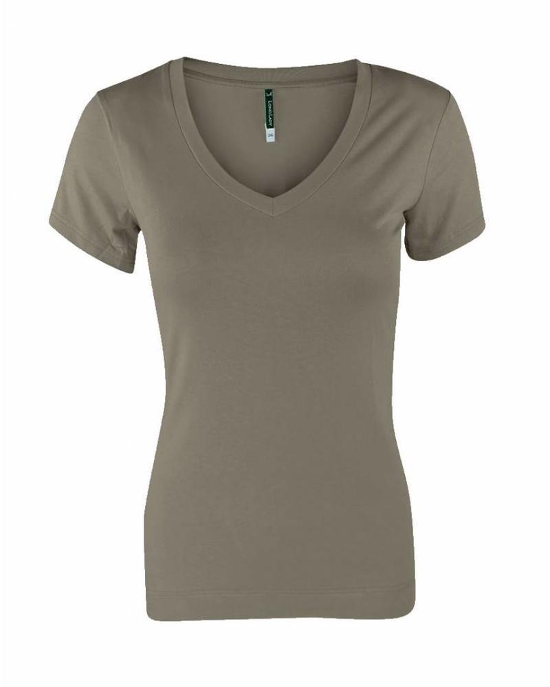 Longlady Shirt Tiny Taupe