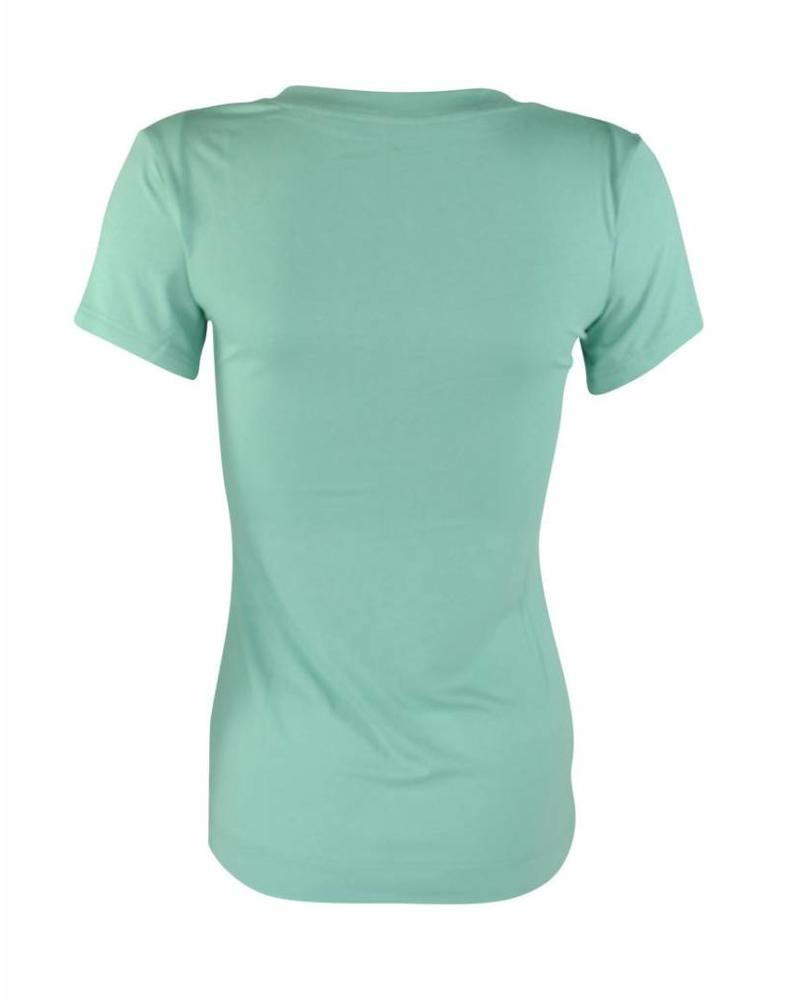 Longlady Shirt Tiny Mint