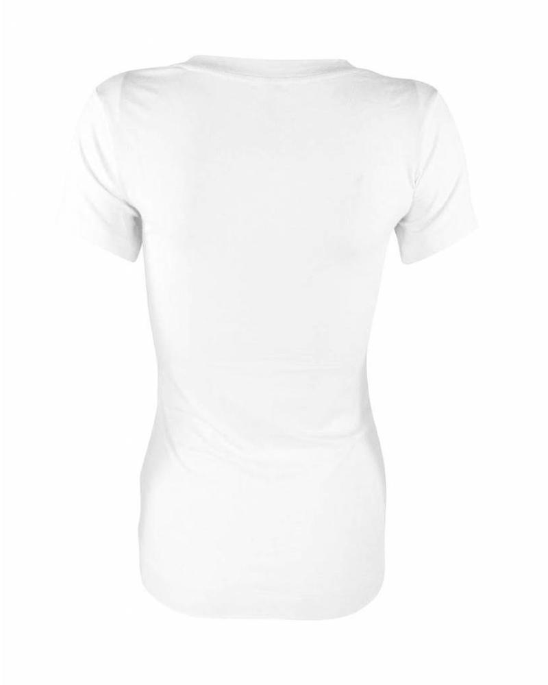 Longlady Shirt Tiny Wit