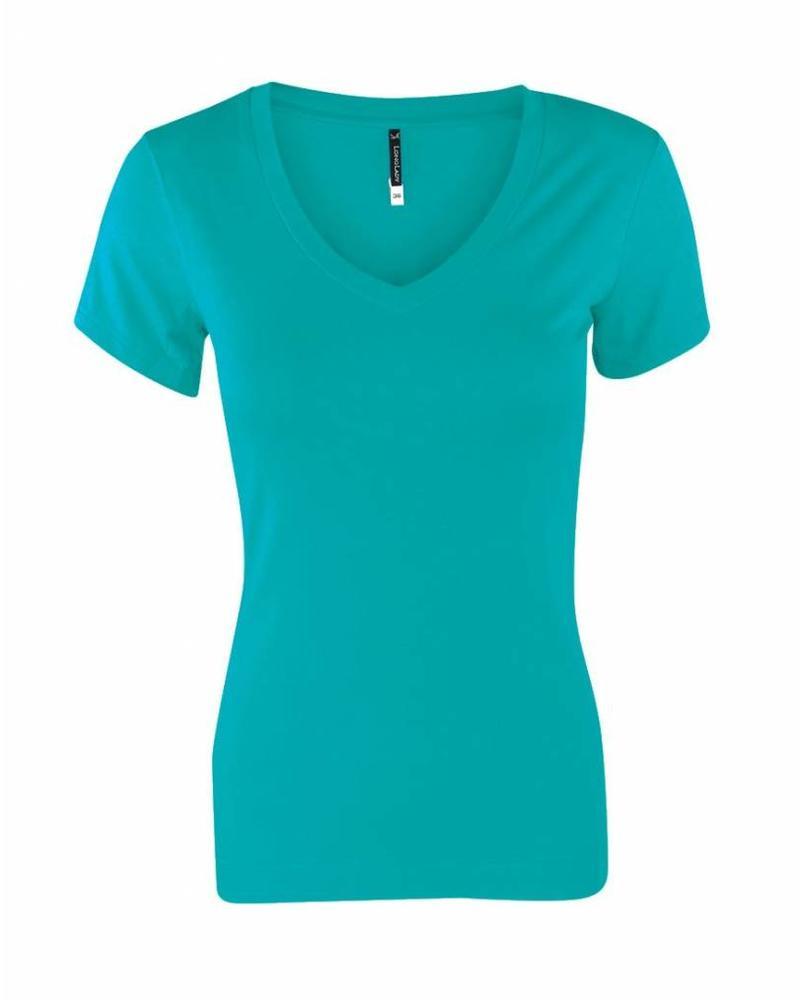 Longlady Shirt Tiny Ocean