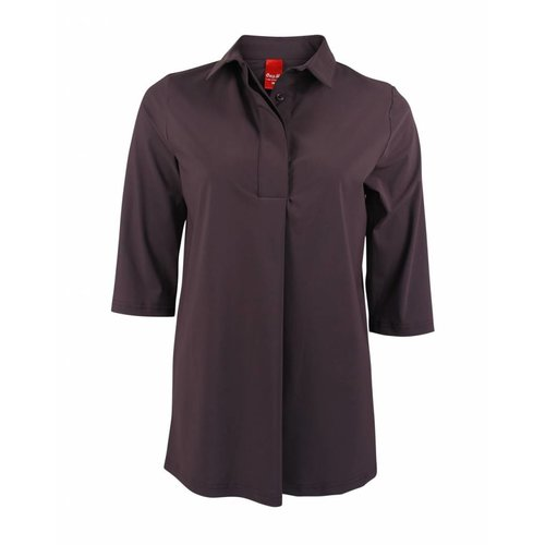 Only-M Only-M Polo Sporty Chic Prugna LKM