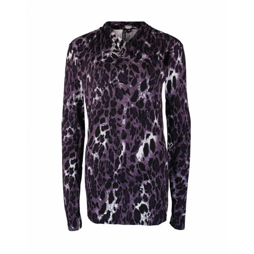 Longlady Longlady Shirt Tara Purple