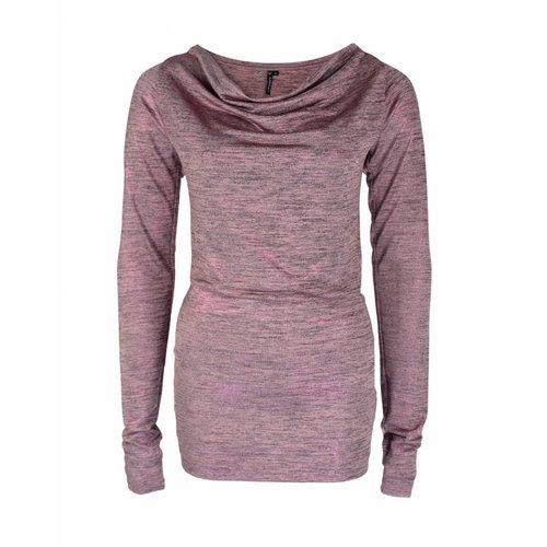 Longlady Longlady Shirt Tambre Pink