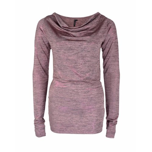 Longlady Longlady Shirt Tambre Roze