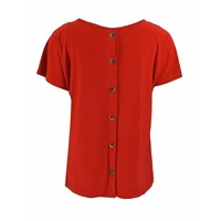 Only-M Shirt Snooze Rosso