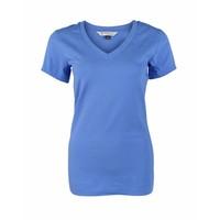 Longlady Shirt Triny Blue