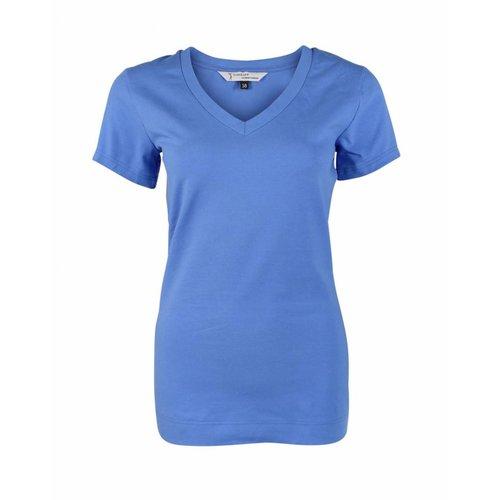 Longlady Longlady Shirt Triny Blue