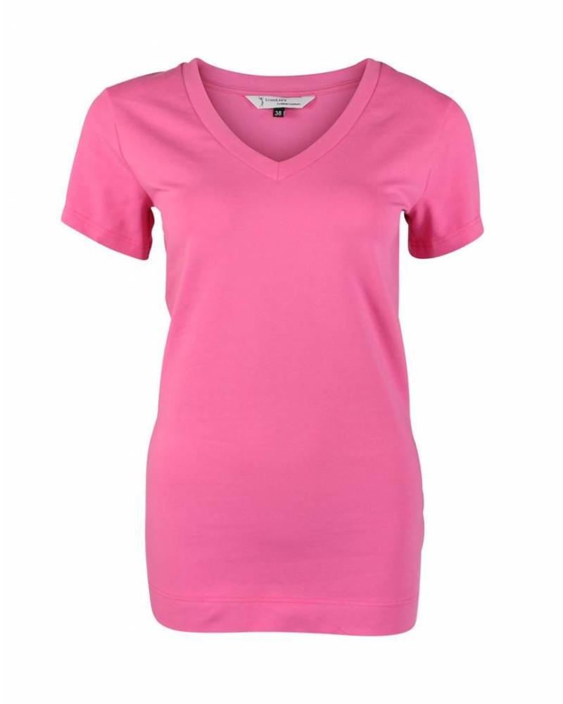 Longlady Shirt Triny Pink