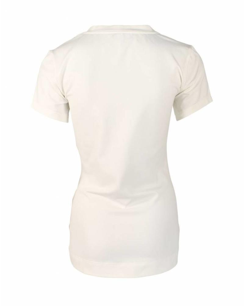 Longlady Shirt Triny Creme